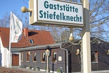 """Der """"Stiefelknecht"""" war viele Jahre ein Lokal."""