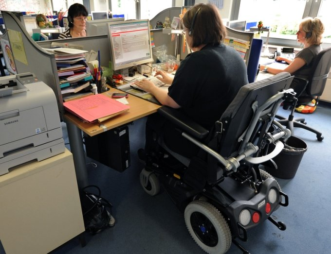 Trotz guter Arbeitsmarktlage viele Schwerbehinderte ohne Job