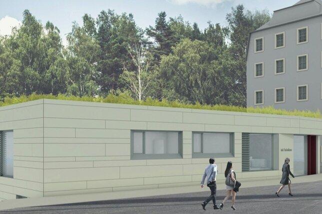 Fast 200 Jahre nach dem Bau des heutigen Firmensitzes (rechts) will IMK Automotive in Altenhain daneben einen Neubau errichten.