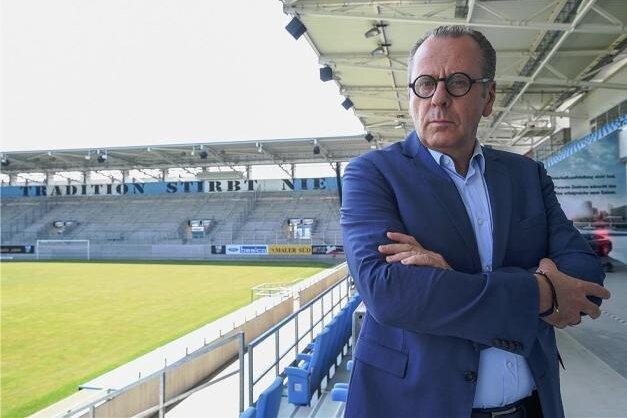 CFC-Insolvenzverwalter kritisiert Stadionsprecher-Rückkehr