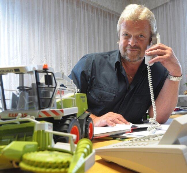 """<p class=""""artikelinhalt"""">Dietmar Uhlmann: """"Jeder Liter Milch ist eine Verlust."""" </p>"""