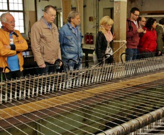 Zwischen 7500 und 8000 Besucher kommen pro Jahr in die Tuchfabrik Gebrüder Pfau.