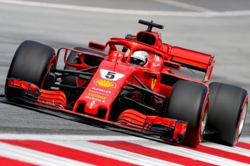 Österreich: Strafe für Ferrari-Pilot Sebastian Vettel