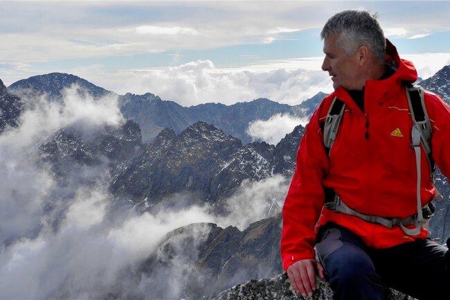 Pavol Barabáš unterwegs in der Hohen Tatra.