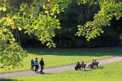 Der Plauener Stadtpark ist ein Ort zur Naherholung. Nun erlebt er einen Kultursommer.