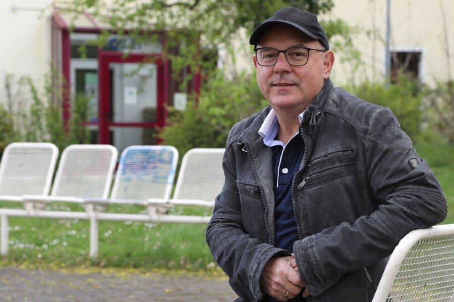 Rainer Klement, der Chef des Glauchauer Freizeitparadieses, hört auf.