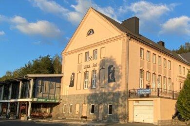 """Das Kulturhaus """"Aktivist"""" soll künftig mit der Uran-Welt den Kurort um eine Attraktion bereichern."""