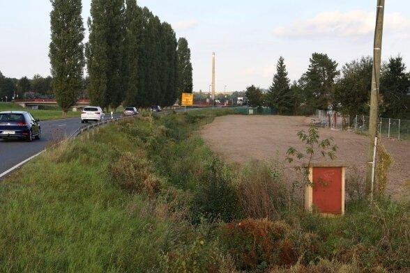 Die Abrissarbeiten im Bereich der alten Kammgarnspinnerei in Glauchau sind abgeschlossen.
