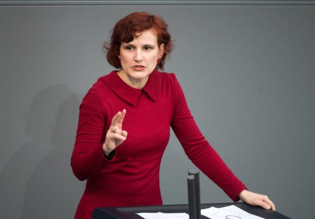Katja Kipping, Linke-Vorsitzende