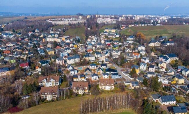 Neukirchen (im Bild) und Jahnsdorf beantragen gemeinsam Fördergeld. Damit sollen Projekte finanziert werden, die über die Ortsgrenzen hinaus von Bedeutung sind.