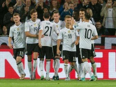 Die deutschen Nationalspieler haben Norwegen sehr klar mit 6:0 besiegt.