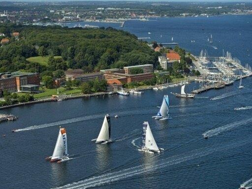 Die Kieler Woche steht vor einem Teilnehmerrekord