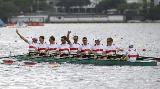 Der Deutschland-Achter gewinnt das Weltcup-Finale