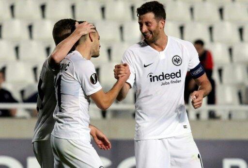 Frankfurt steht in der K.O.-Phase der Europa League