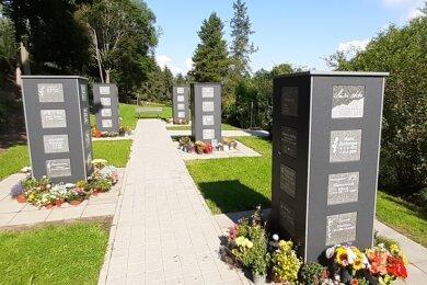 Zu den fünf Stelen im Kolumbarium auf dem Zentralfriedhof kommen noch in diesem Jahr zwei hinzu. Insgesamt sind 14 Stelen geplant.