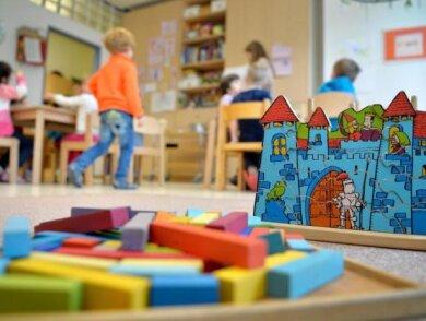 Auch im Landkreis Zwickau öffnen die Kindertagesstätten am Montag im eingeschränkten Regelbetrieb.