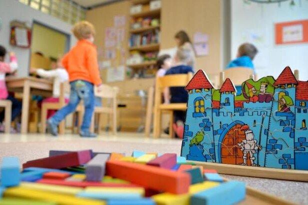 28 Prozent der sächsischen Krippen- und Kindergartenkinder in der Notbetreuung