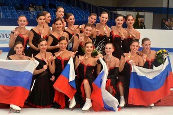 Eiskunstlauf: Team Russland holt Synchron-WM-Titel