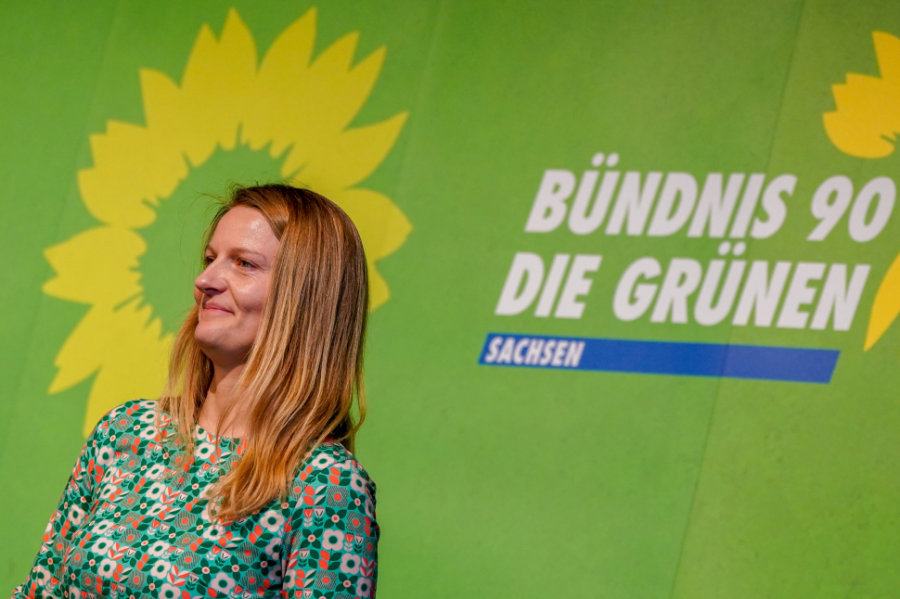 Christin Furtenbacher - Parteivorsitzende der Grünen
