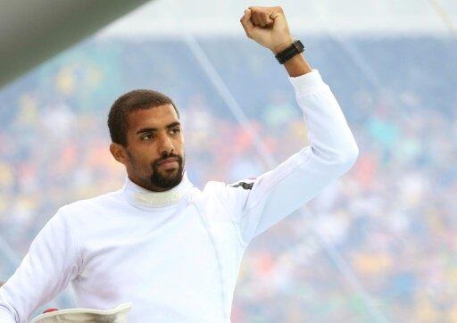Patrick Dogue zog wie Bruder Marvin ins WM-Finale ein