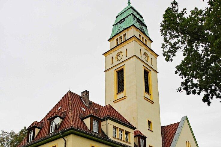 Die Katholische Kirche St. Bonifatius in Werdau-West.