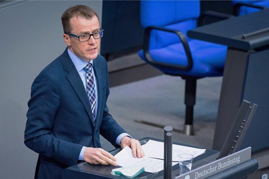 CDU-Politiker Alexander Krauß spricht bei einer Plenarsitzung im Bundestag im Frühjahr dieses Jahres. In der kommenden Legislaturperiode wird er nicht mehr im Parlament vertreten sein.