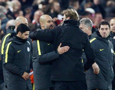 Guardiola und Klopp respektieren und schätzen sich