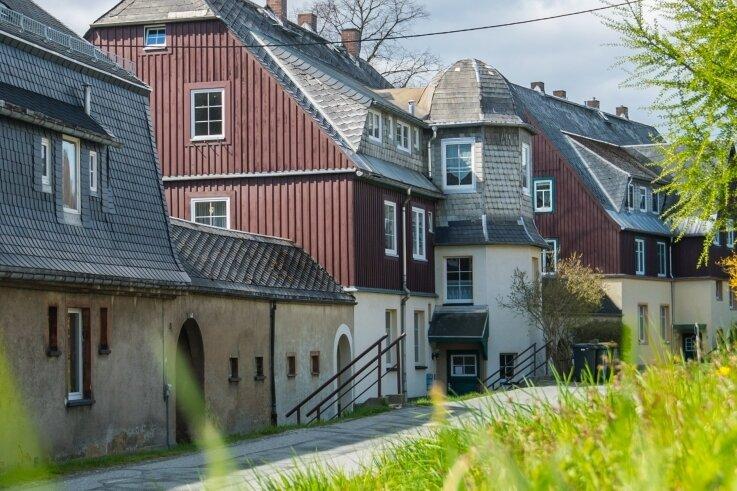 Zu den früheren WGO-Häusern, die verkauft wurden, gehören auch diese in der Straße Am Büchert. Die 1928 am Büchert-Berg erbaute Siedlung soll in den nächsten Jahren denkmalgerecht saniert werden.