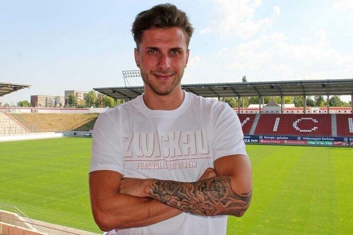 Yannik Möker verstärkt den FSV Zwickau.