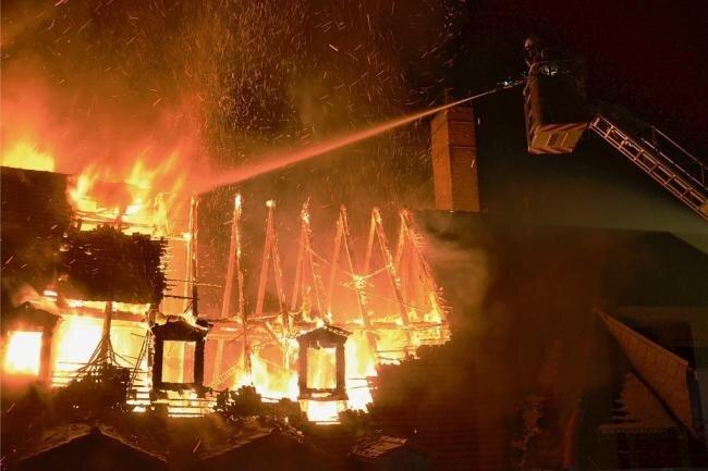 Tödlicher Brand in Freiberg offenbar fahrlässig entstanden