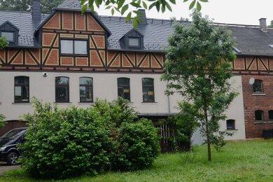 Der Jugendklub ist im Rittergut von Pfaffengrün untergebracht.