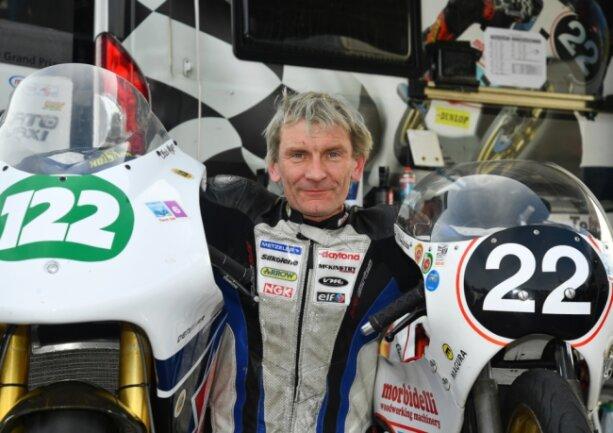 Chris Meyer war beim Cookstown-Rennen im September in Nordirland mit mehreren Maschinen an den Start gegangen. Das hat ihm dabei geholfen, die Strecke kennenzulernen.