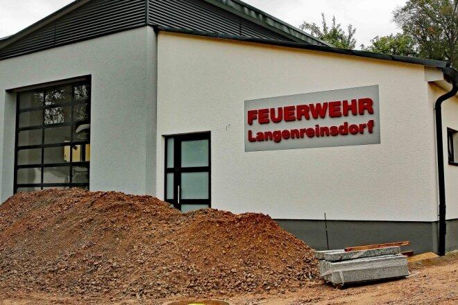 Neues Depot für Feuerwehr