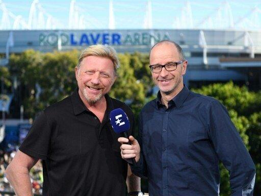 Deutscher Fernsehpreis für Boris Becker (l.)