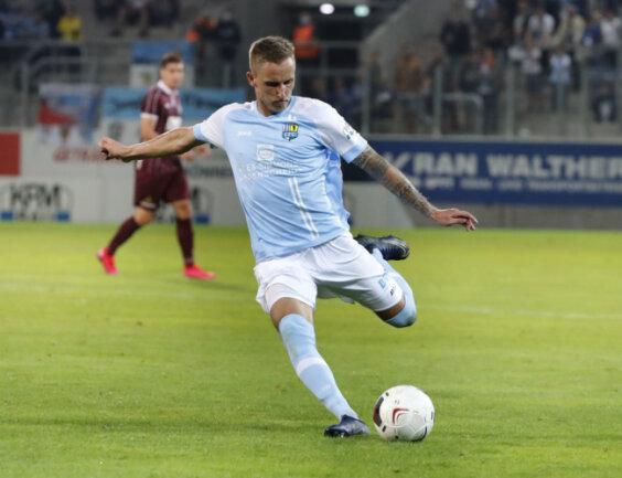 Linksverteidiger Paul Milde wechselte im Sommer 2018 zum Chemnitzer FC.