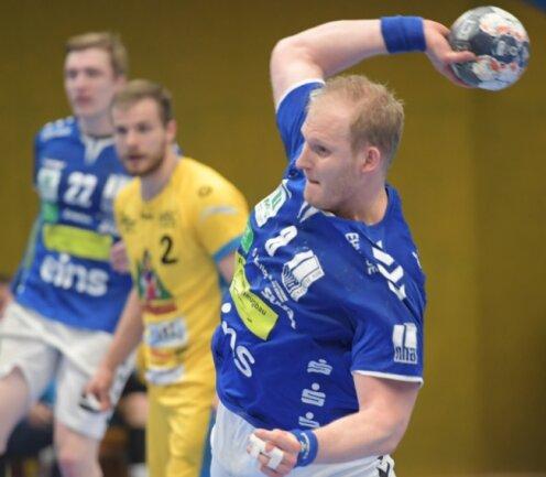 Kreisläufer Bengt Bornhorn war vor zwei Wochen zuhause gegen Konstanz mit neun Toren bester Werfer der Partie. Diesen Sonnabend gilt es, im Heimspiel gegen Hüttenberg zu punkten. Anwurf ist 17 Uhr.
