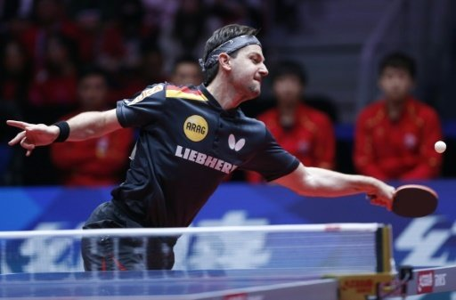 Timo Boll ist der letzte Deutsche im Turnier in Linz
