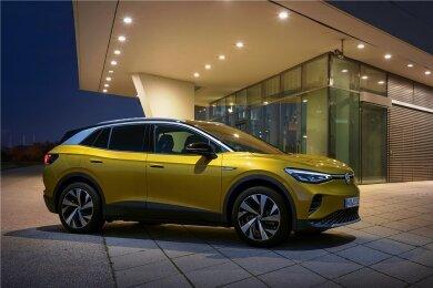 Volkswagen hat mit dem ID.4 jetzt einen kompakten SUV mit vollelektrischem Antrieb im Programm.