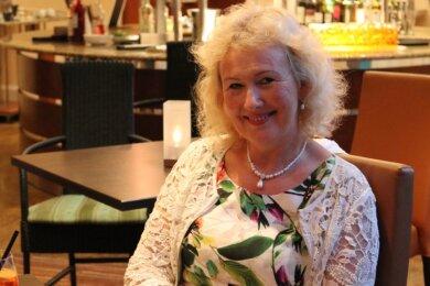 Hat gut Lachen: Ellen Haddenhorst-Lusensky feiert 30-jähriges Bühnenjubiläum.