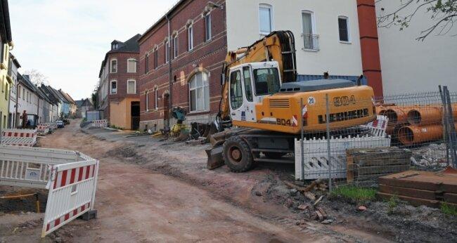 Die alte Stadtbäckerei wurde verkauft. Hier wegfallende Stellplätze werden mit Flächen an der Lauterhofener Straße ersetzt.