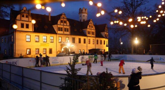 Im kommenden Winter wird es keine Eisbahn auf dem Glauchauer Schlossplatz geben.