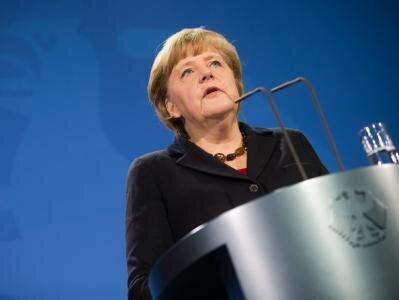 Bundeskanzlerin Merkel zum Papstrücktritt: «Als Bundeskanzlerin sage ich Danke für seine Arbeit und wünsche ihm von Herzen alles Gute.».