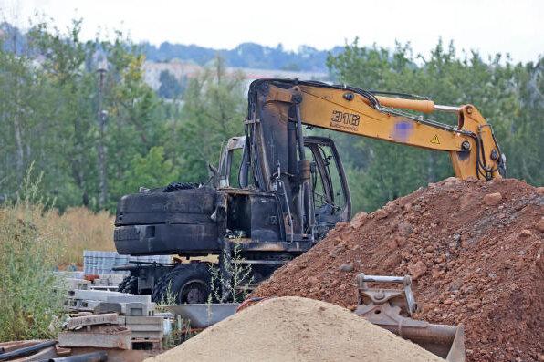 Brand auf Zwickauer JVA-Baustelle: Bekennerschreiben aufgetaucht