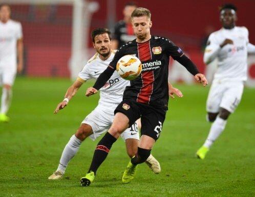 Leverkusen steht in der K.O.-Phase der Europa League