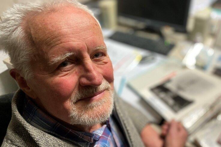 Jürgen Nestler ist immer noch im Vorstand des Thalheimer Teleclubs, der Nachfolge-Antennengemeinschaft aus DDR-Zeiten.