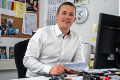 Frank Zwinscher ist während der Coronapandemie der Krisenmanager in der Unternehmensgruppe Zwinscher & Ludwig.