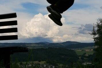 Sprung in die Wolken
