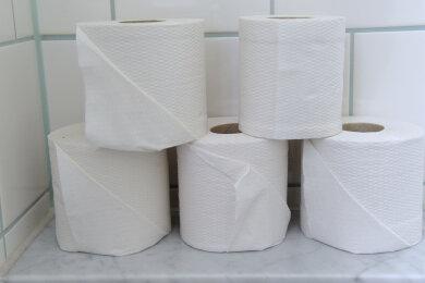 In einem Plauener Mehrfamilienhaus haben Täter eine Rolle Toilettenpapier in Brand gesteckt.