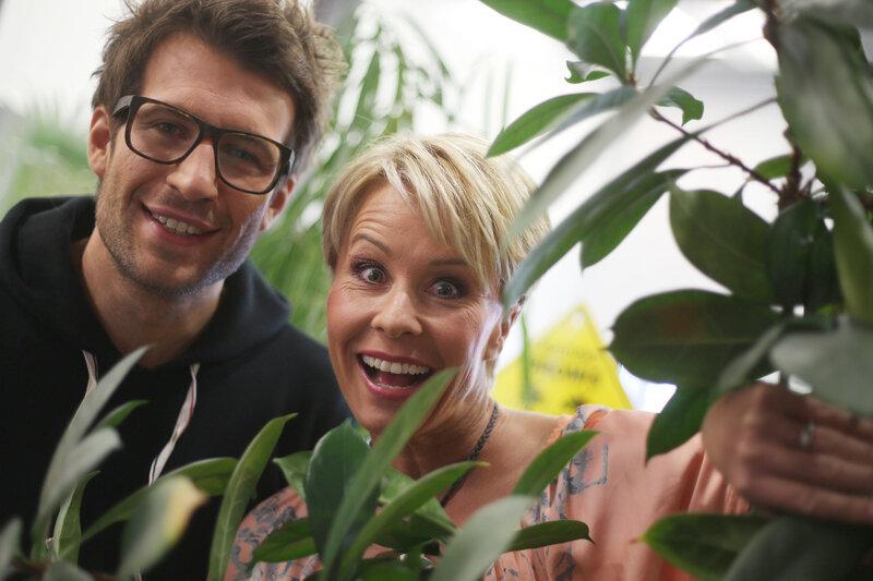 Sonja Zietlow und Daniel Hartwich, Moderatoren der RTL-Show «Ich bin ein Star - Holt mich hier raus!»