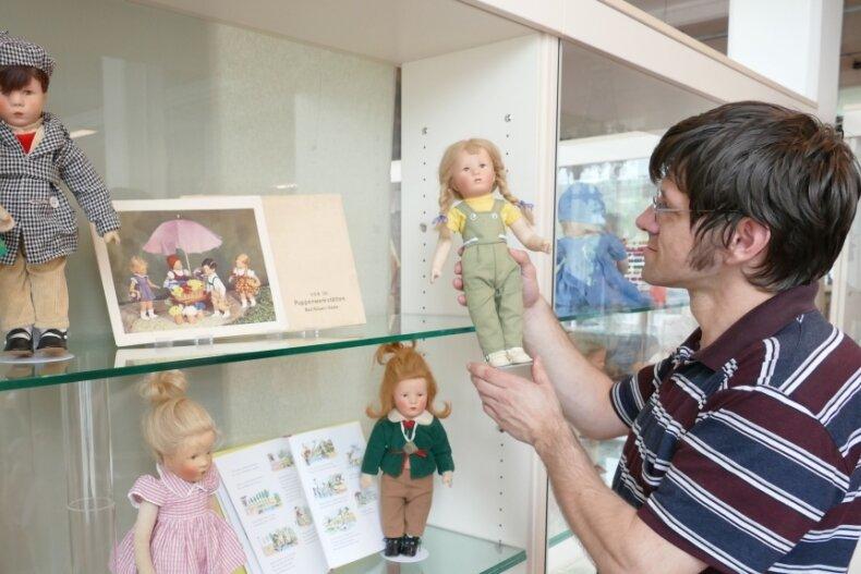 Mario Franke hat die Käthe-Kruse-Puppen mit viel Liebe zum Detail in Szene gesetzt.